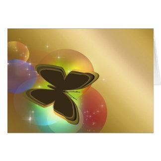 Butterfly (landscape) card