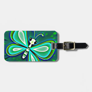 Butterfly Magic Luggage Tag