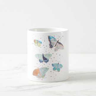 Butterfly Meadow Habitat Classic White Coffee Mug
