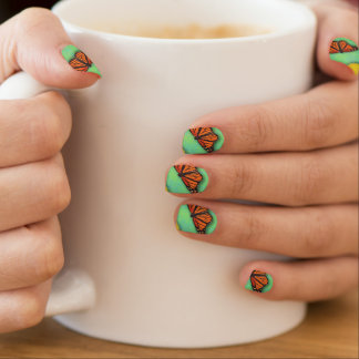 Butterfly Nails Nails Stickers