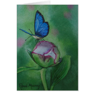 Butterfly Notecard Print from Watercolor Note Card