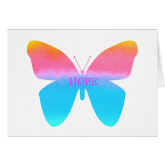 Butterfly of Hope Note Card