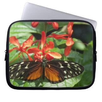 """Butterfly on a Flower"" Laptop Sleeve"
