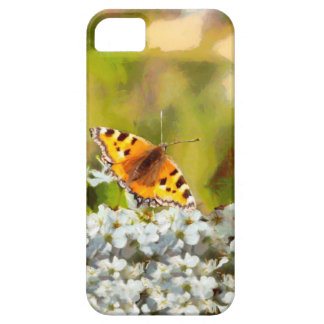 Butterfly on Blossom Case For The iPhone 5