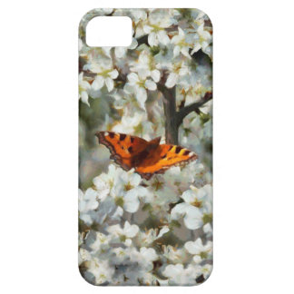 Butterfly on Blossom iPhone 5 Cover