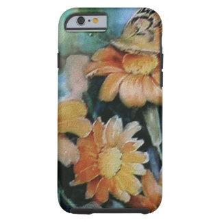 Butterfly on Daisy Tough iPhone 6 Case