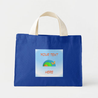 """""""Butterfly on Rainbow"""" Tote"""