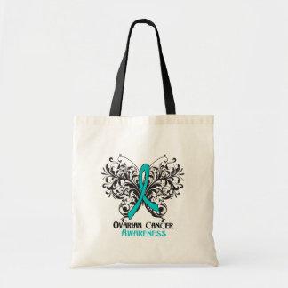 Butterfly Ovarian Cancer Awareness Bag