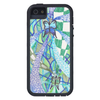 Butterfly pattern tough xtreme iPhone 5 case