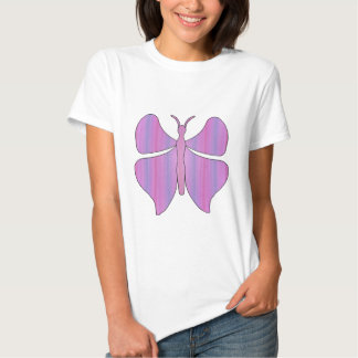 Butterfly Pink T-shirts