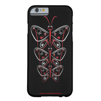 butterfly pinstripe tribal ace of spades barely there iPhone 6 case