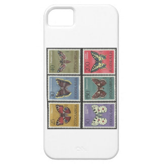 Butterfly Postage Stamps iPhone 5 Case