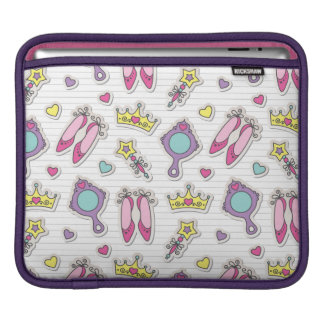 butterfly princess pattern iPad sleeve