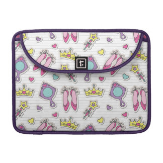 butterfly princess pattern sleeve for MacBook pro