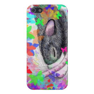 butterfly rat iPhone 5 case