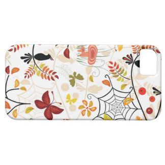 Butterfly spider and birds iPhone 5 cases