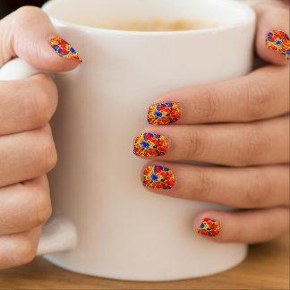 Butterfly Splash Marbled minx nails Nail Sticker