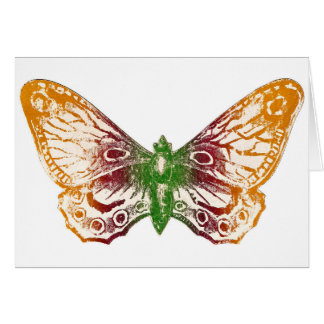 Butterfly Stationary Card