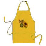 Butterfly Sunflower Garden Apron