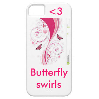 Butterfly swirls iPhone 5 cover