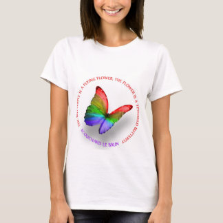 Butterfly to Flower T-Shirt