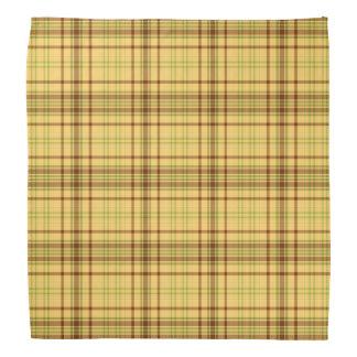 Butterscotch Green Striped dog Head Kerchiefs