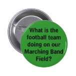 Button-Football Team 6 Cm Round Badge