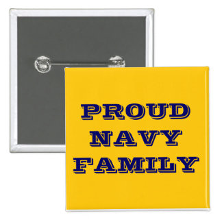 Button Proud Navy Family