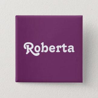 Button Roberta