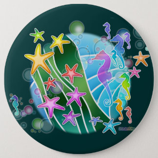 Button - Under the Sea Pop Art