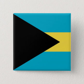Button with Flag of Bahamas
