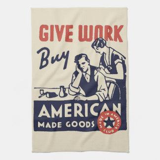 Buy American Tea Towel