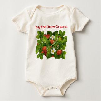 Buy Eat Grow Organic infant onsie creeper