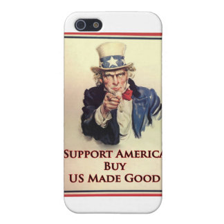 Buy US Goods Uncle Sam Poster iPhone 5/5S Cover
