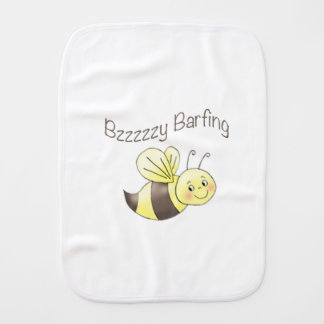 Buzz the Bee Baby Burp Cloths