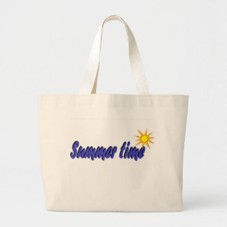 Buzzer time large tote bag