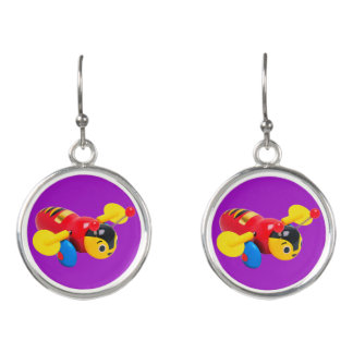 Buzzy Bee Kiwiana Drop Earrings
