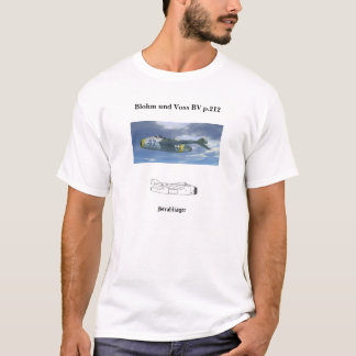 Bv p.212 jet fighter T-Shirt