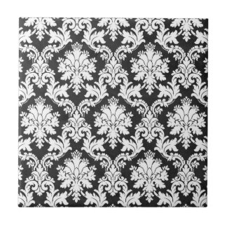 BW-DAMASK 3 SMALL SQUARE TILE