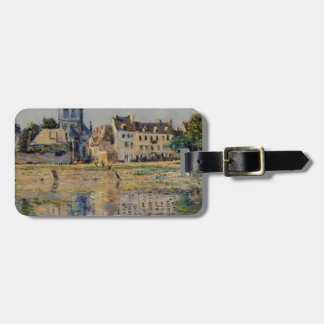 By the River at Vernon by Claude Monet Luggage Tag