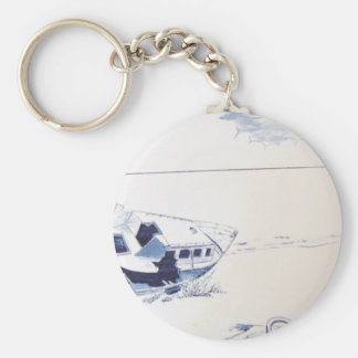 by the sea.jpg basic round button key ring