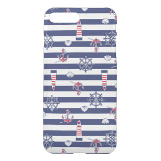 By The Sea Pattern iPhone 7 Plus Case