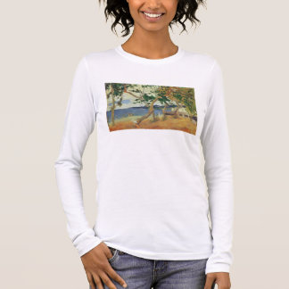 By the Seashore, Martinique, 1887 (oil on canvas) Long Sleeve T-Shirt