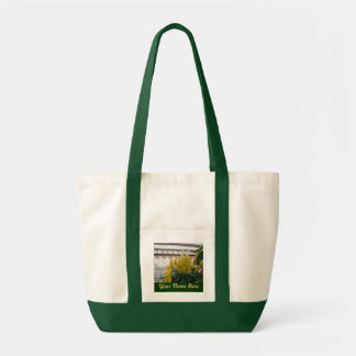 By the Tracks Personalized Bag