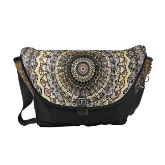 Bygone Love Mandala Kaleidoscope Pattern Commuter Bags