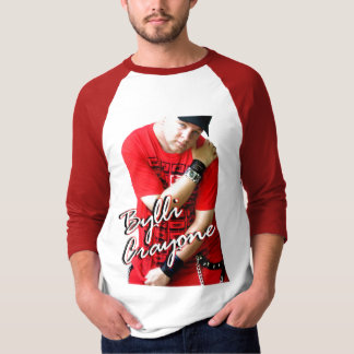 Bylli Crayone Jersey (red) Tee Shirts
