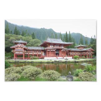 """Byodo-In Temple Photo Print 12 x 8"""""""