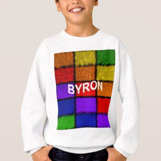 BYRON ( male names ) Sweatshirt