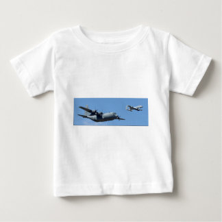 C130 HERCULES AND A10 WARTHOG IN FORMATION BABY T-Shirt