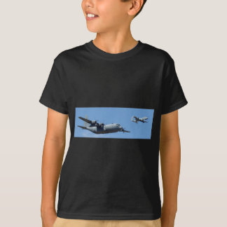 C130 HERCULES AND A10 WARTHOG IN FORMATION T-Shirt